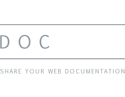 DOCPOOL - For web developers to share documentation